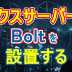 エックスサーバーに Bolt を設置する